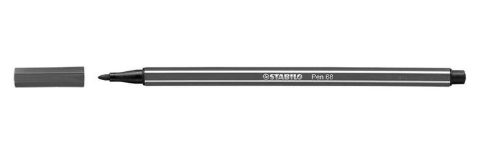 Rotulador stabilo pen 68 gris claro
