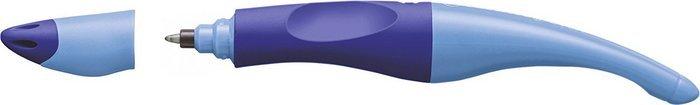 Boligrafo roller stabilo ergonomico color cuerpo azul / azul