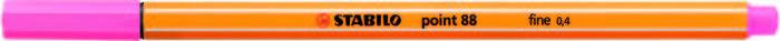 Rotulador stabilo point 88 rosa claro
