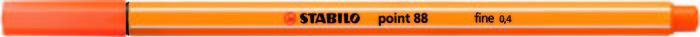 Rotulador stabilo point 88 bermellon palido