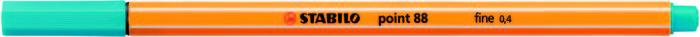 Rotulador stabilo point 88 azul claro