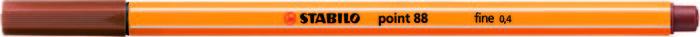 Rotulador stabilo point 88 sanguina