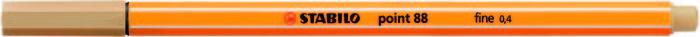 Rotulador stabilo point 88 ocre claro