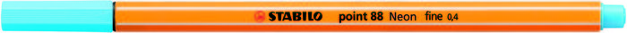 Rotulador stabilo point 88 fluorescente azul