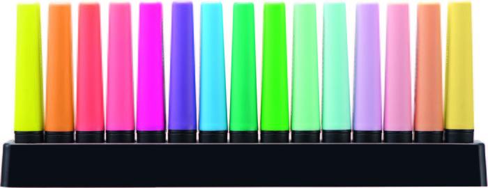 Marcador stabilo boss set 15 unidades fluor y pastel