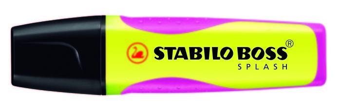 Stabilo boss splash amarillo