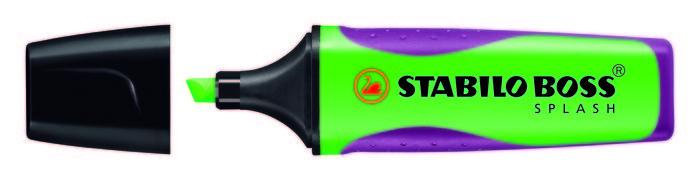 Stabilo boss splash verde