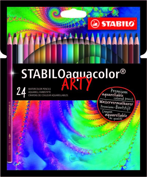 Stabilo aquacolor estuche arty
