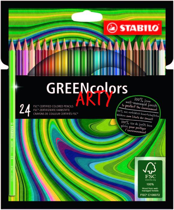 Stabilo greencolors 24 et arty