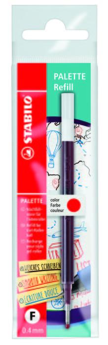 Stabilo palette recarga f rojo eco-pack