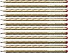 Lapiz stabilo easygraph s metallic hb oro,diestro