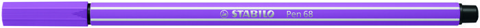 Rotulador stabilo pen 68/60 ciruela