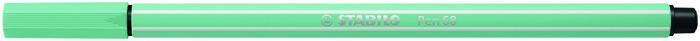 Rotulador stabilo pen 68/12 eucalipto