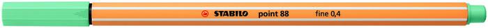 Rotulador stabilo point 88/12 eucalipto
