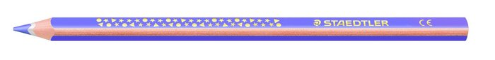 Lapiz jumbo noris club c/12 1284-6 violeta