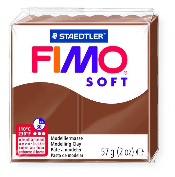 Pastilla 57grs fimo soft chocolate