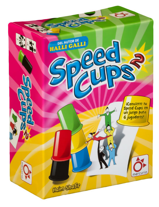 Juego de accion y reflejos speed cups 2
