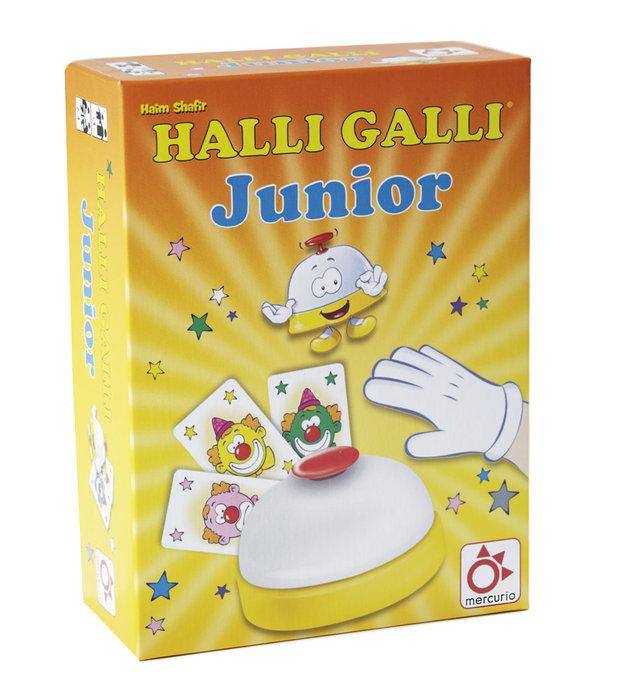 Juego de cartas halli galli jr
