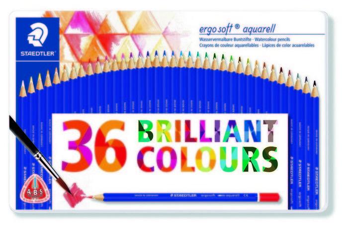 Lapices de color acuarelables ergosoft aquarell 156