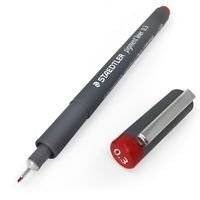 Rotuladores pigment liner 308 0.3 mm rojo
