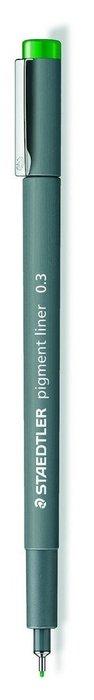 Rotulador calibrado pigment liner 308 verde 0.3 mm