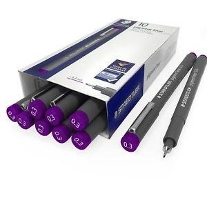 Rotuladores pigment liner 308 0.3 mm violeta