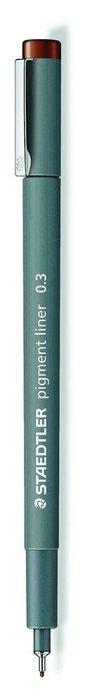 Rotulador calibrado pigment liner 308 marron 0.3 mm