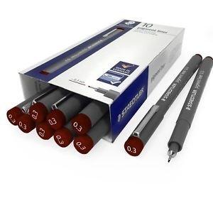 Rotuladores pigment liner 308 0.3 mm marron