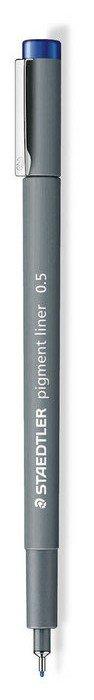 Rotulador calibrado pigment liner 308 azul 0.5 mm