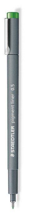 Rotulador calibrado pigment liner 308 verde 0.5 mm
