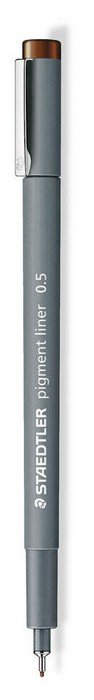 Rotulador calibrado pigment liner 308 marron 0.5 mm