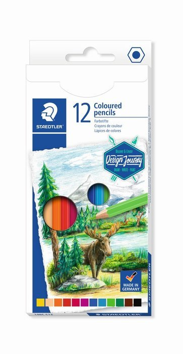 Lapices de colores staedtler estuche carton 146c 12 uds