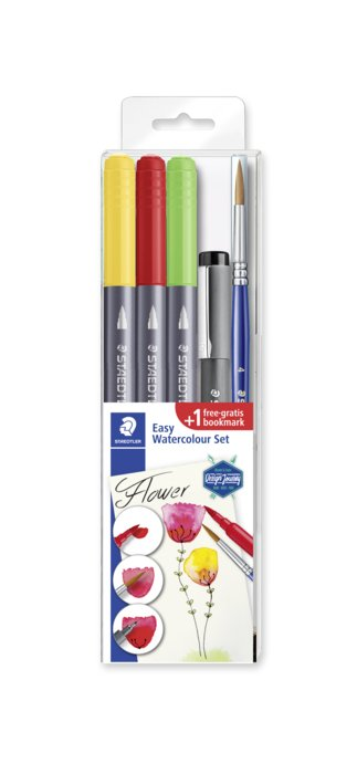 Rotuladores staedtler design journey doble punta acuarelable