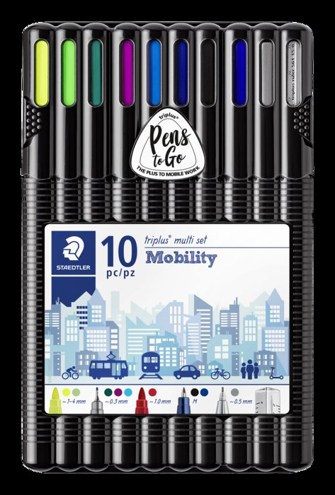 Set oficina triplus mobility 10 pzas escritura