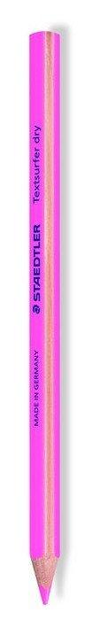 Lapiz fluorescente triangular rosa
