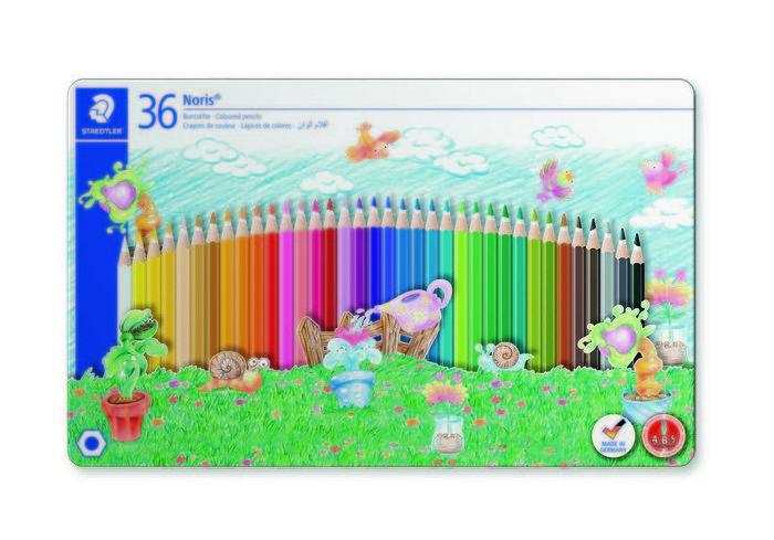 Lapices de color concepto motif line estuche 36 uds
