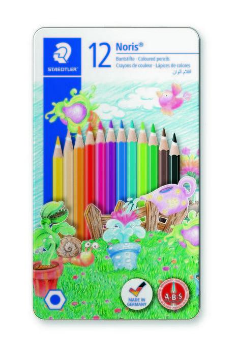 Lapices de color concepto motif line estuche 12 uds