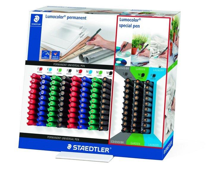 Expositor 110 rotulador lumocolor surtidos
