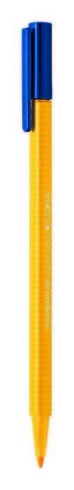 Rotulador punta de fibra triplus color 323 amarillo intenso