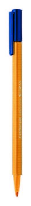 Rotulador punta de fibra triplus color 323 naranja claro