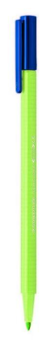 Rotulador punta de fibra triplus color 323 verde lima
