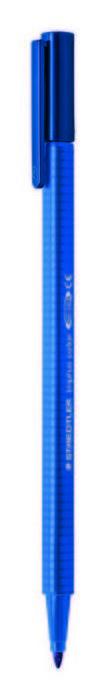 Rotulador punta de fibra triplus color 323 azul delft