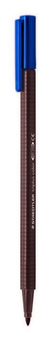 Rotulador punta de fibra triplus color 323 marron tabaco