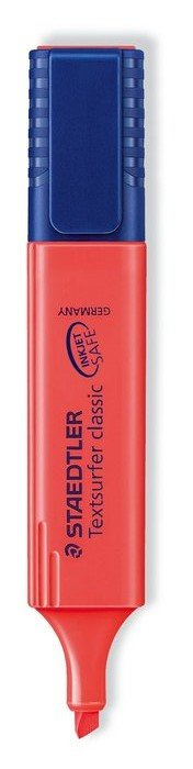 Marcador fluoresc 364-2 textsurfer rojo
