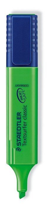 Marcador fluoresc 364-5 textsurfer verde