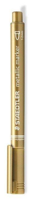 Rotulador staedtler 8323 metallic marker oro