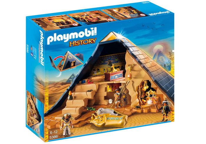 Playmobil piramide del faraon 5386