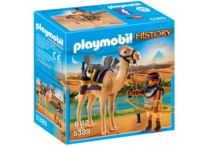 Playmobil egipcio con camello 5389