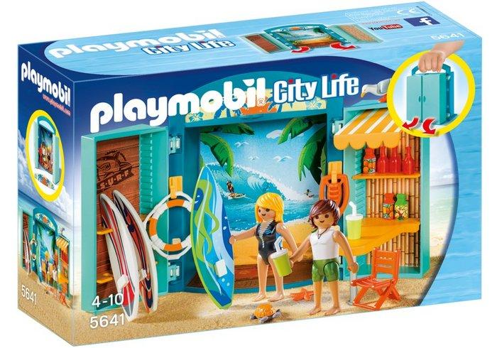 Playmobil cofre tienda surf 5641
