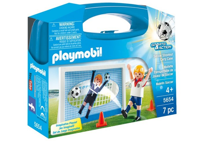 Playmobil maletin futbol 5654